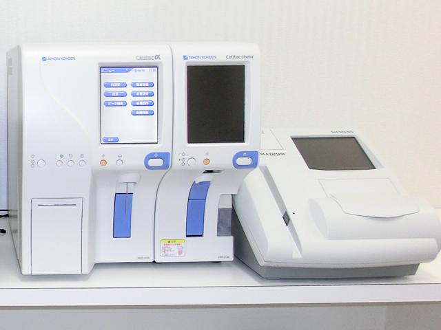 迅速血液検査装置